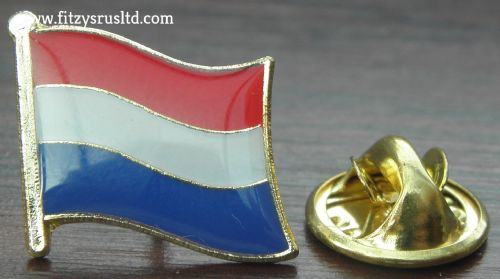 Netherlands Country Flag - Lapel - Hat - Cap - Tie Pin Badge Nederland Amsterdam